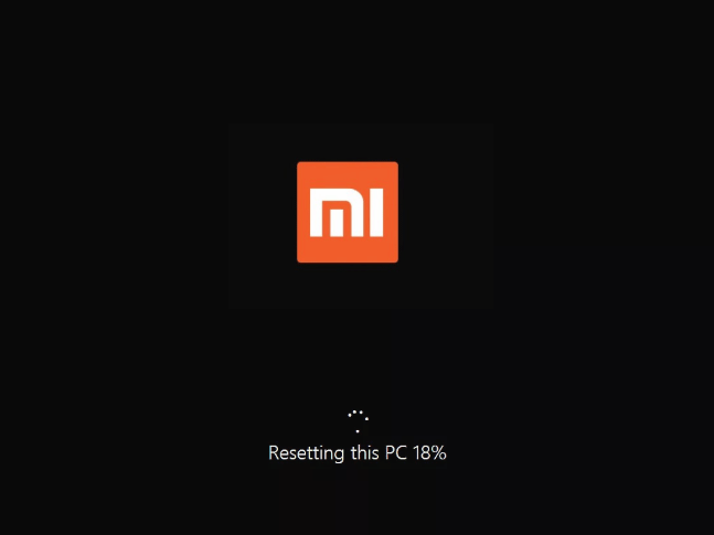Как восстановить заводские настройки ноутбука XiaoMi, если он не запускается