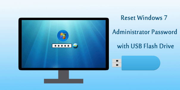 Как сбросить пароль администратора Windows 7 с помощью USB-накопителя