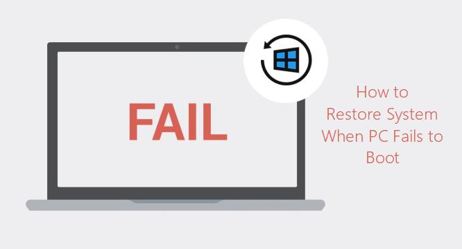 Как выполнить восстановление системы в Windows 10, если компьютер не загружается