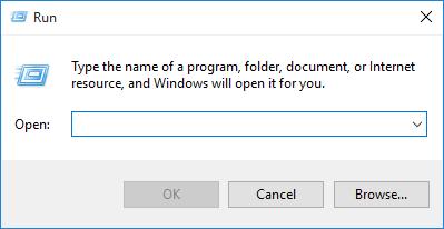 4 способа открыть диалоговое окно «Выполнить» в Windows 10