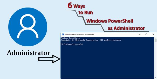 6 способов запустить PowerShell от имени администратора в Windows 10