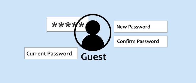 Как установить или изменить пароль для гостевой учетной записи в Windows 7/8/10