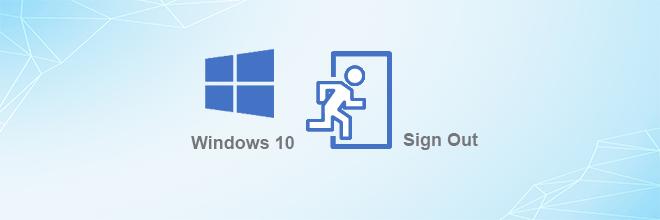 5 вариантов выхода из Windows 10