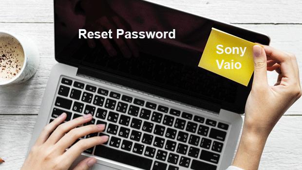 Как сбросить пароль ноутбука Sony Vaio для Windows 8