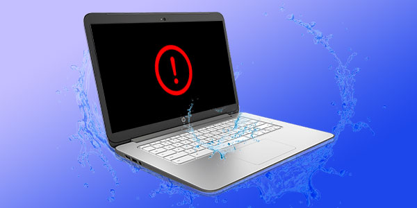 Исправлено: проливание воды на клавиатуру ноутбука