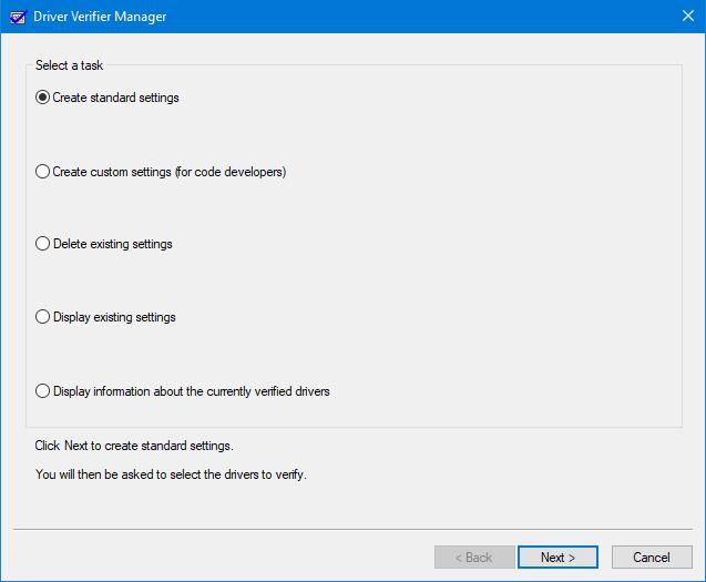 4 метода включения диспетчера проверки драйверов в Windows 10