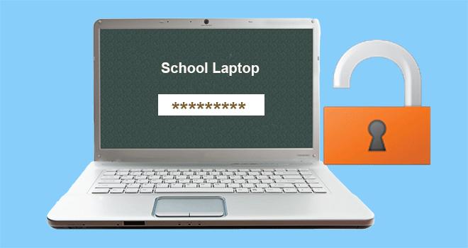 Как разблокировать школьный ноутбук