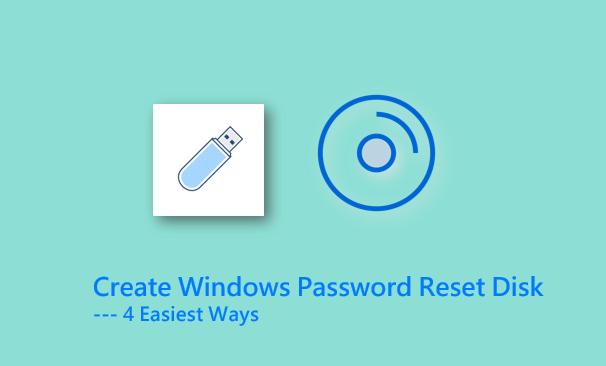 4 способа создать диск для сброса пароля для учетных записей Windows