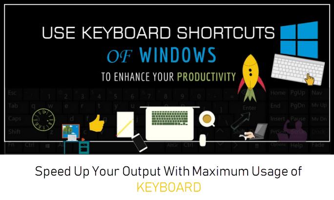 Ускорьте вывод с помощью этих сочетаний клавиш Windows