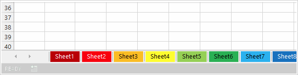 Как изменить цвет вкладок одного или нескольких листов в Excel 2016