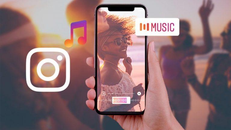 Как добавить музыку в историю в Instagram