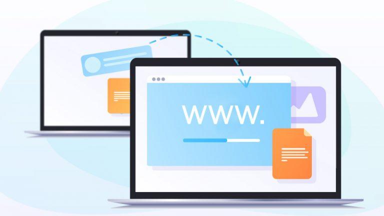 Как перенести сайт в новый домен