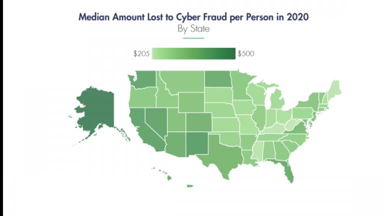Эти штаты США больше всего пострадали от киберпреступности
