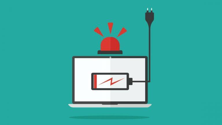 Как контролировать расход заряда батареи в Windows 10