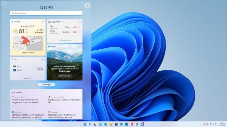 Как использовать виджеты в Windows 11