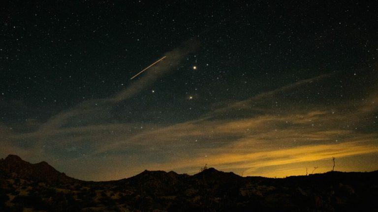 Как сфотографировать ночное небо