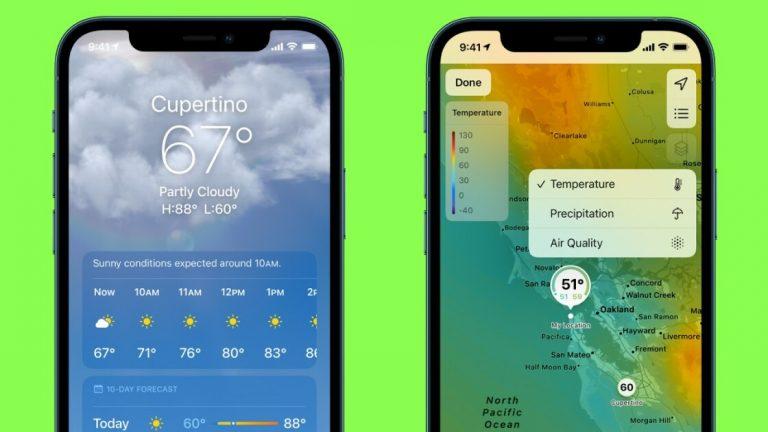 Это дождь?  Новые приемы, которые стоит попробовать в приложении Apple Weather для iPhone и Apple Watch